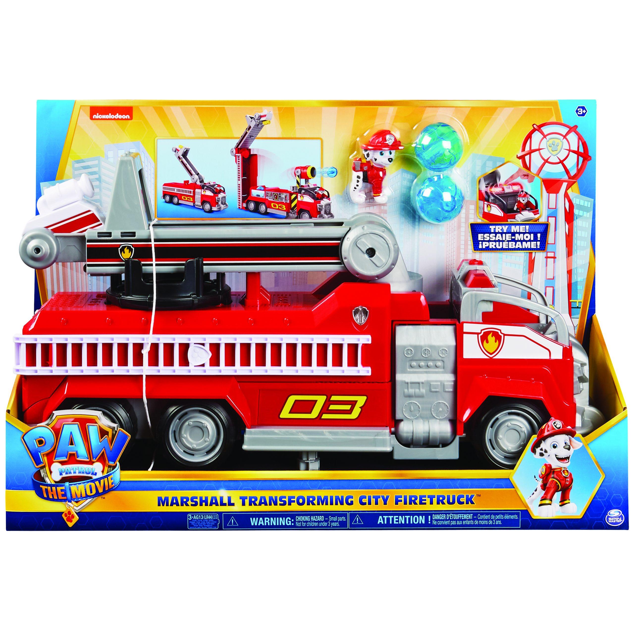 Marshall's Transforming City Fire Truck™