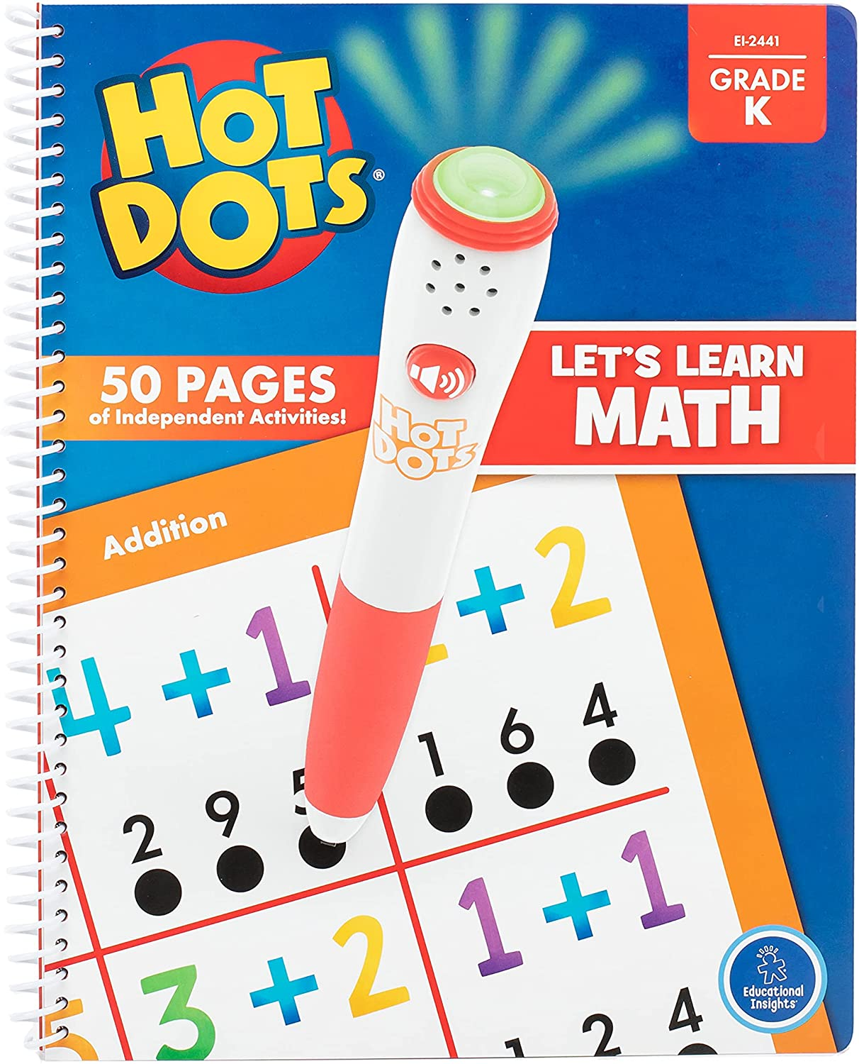 Hot Dots Let's Learn Reading & Math Sets