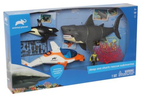 Animal Planet Deep Sea Shark Rescue Submarine