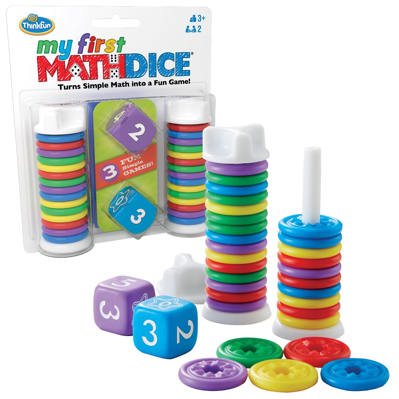 My First Math Dice
