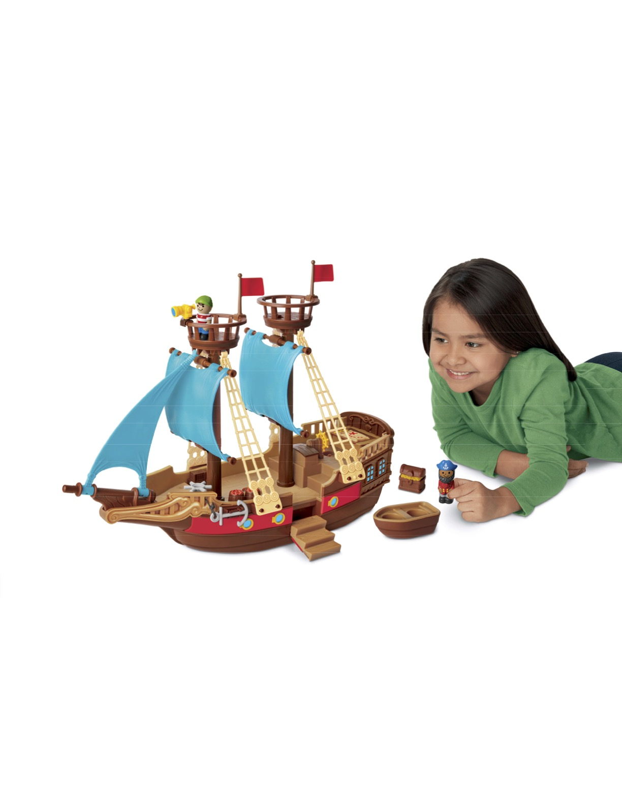 Treasures Await! Adventure Ship