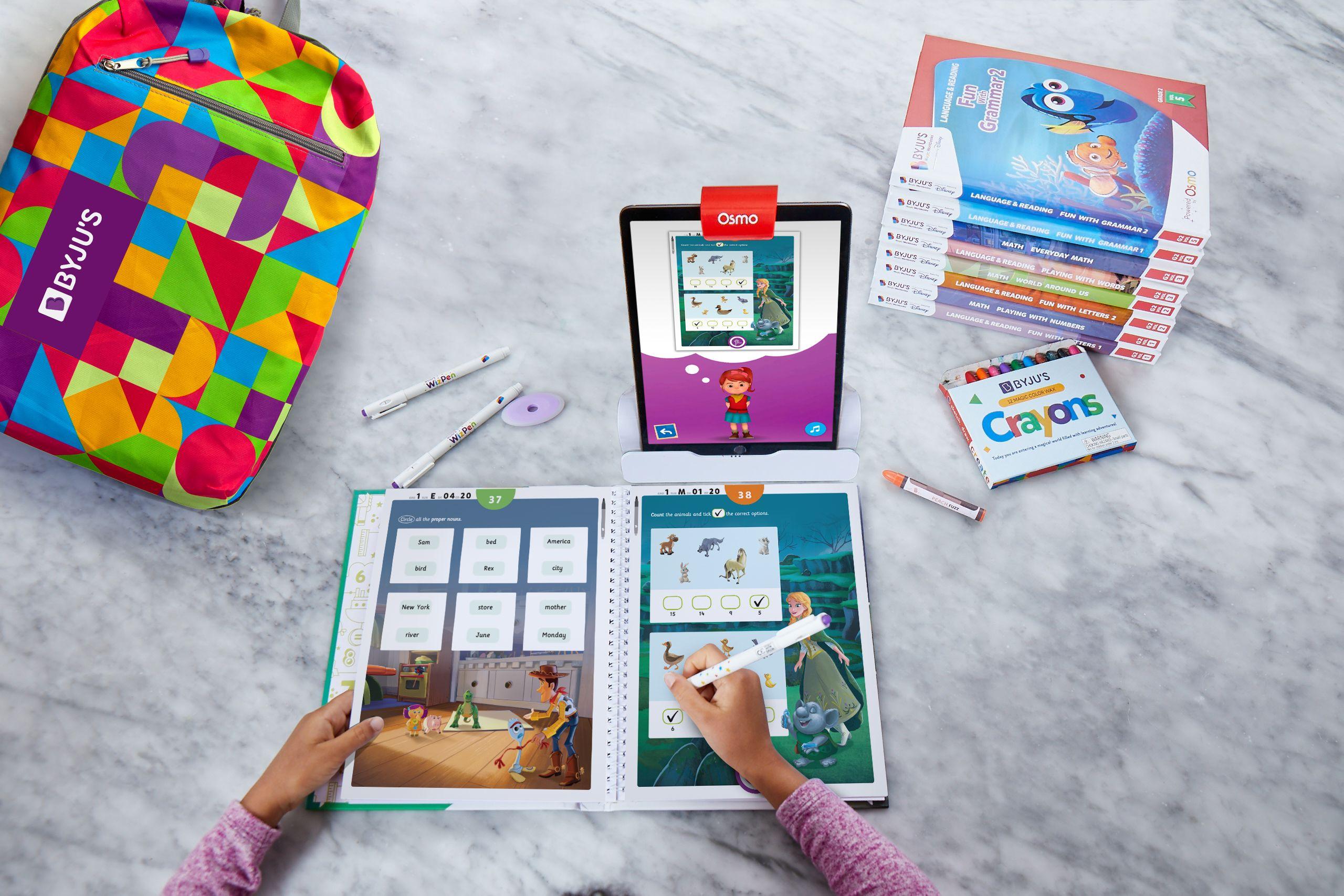 BYJU'S Magic Workbooks featuring Disney Premium Kits
