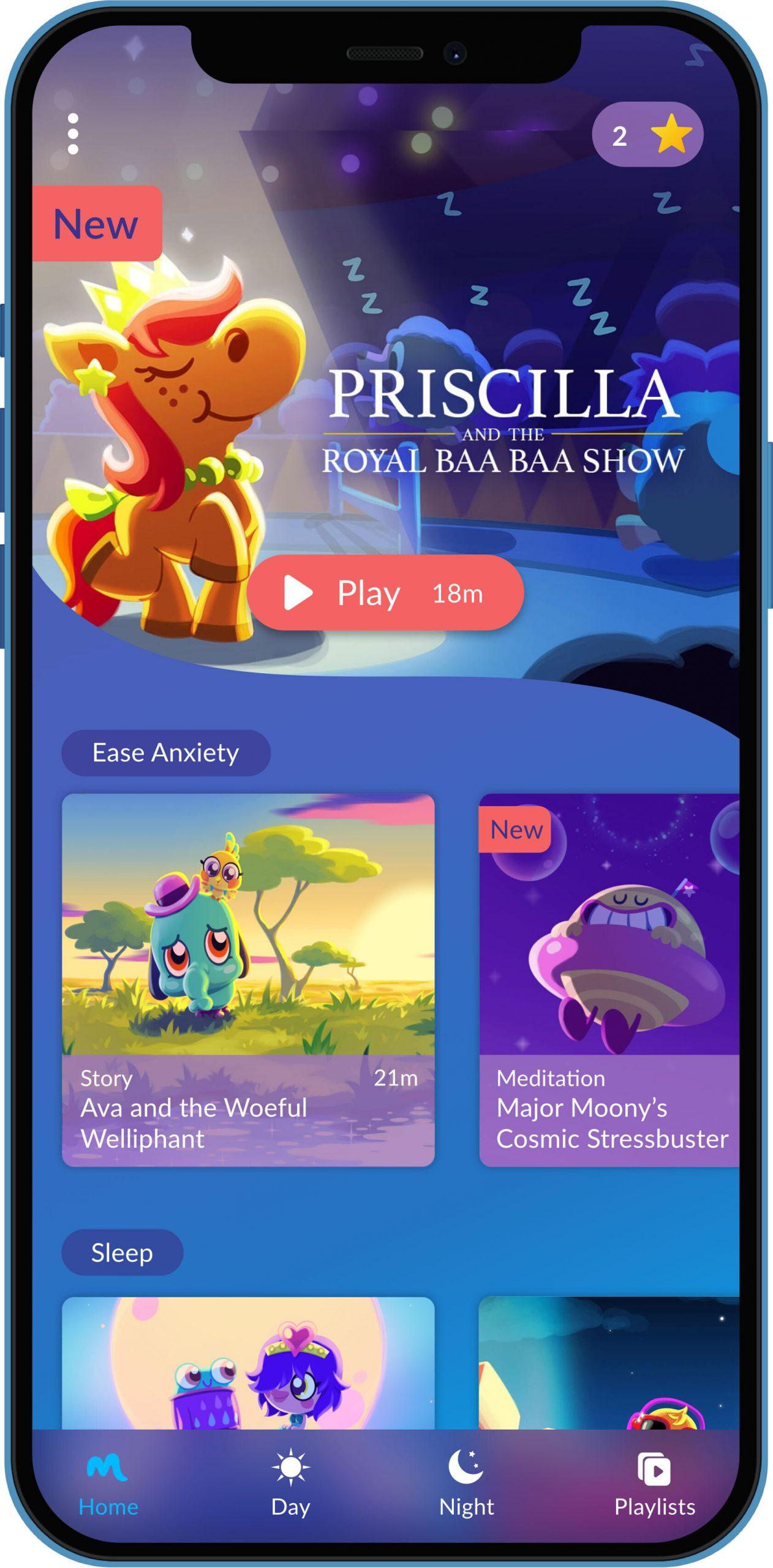 Moshi: Sleep and Mindfulness App for Kids