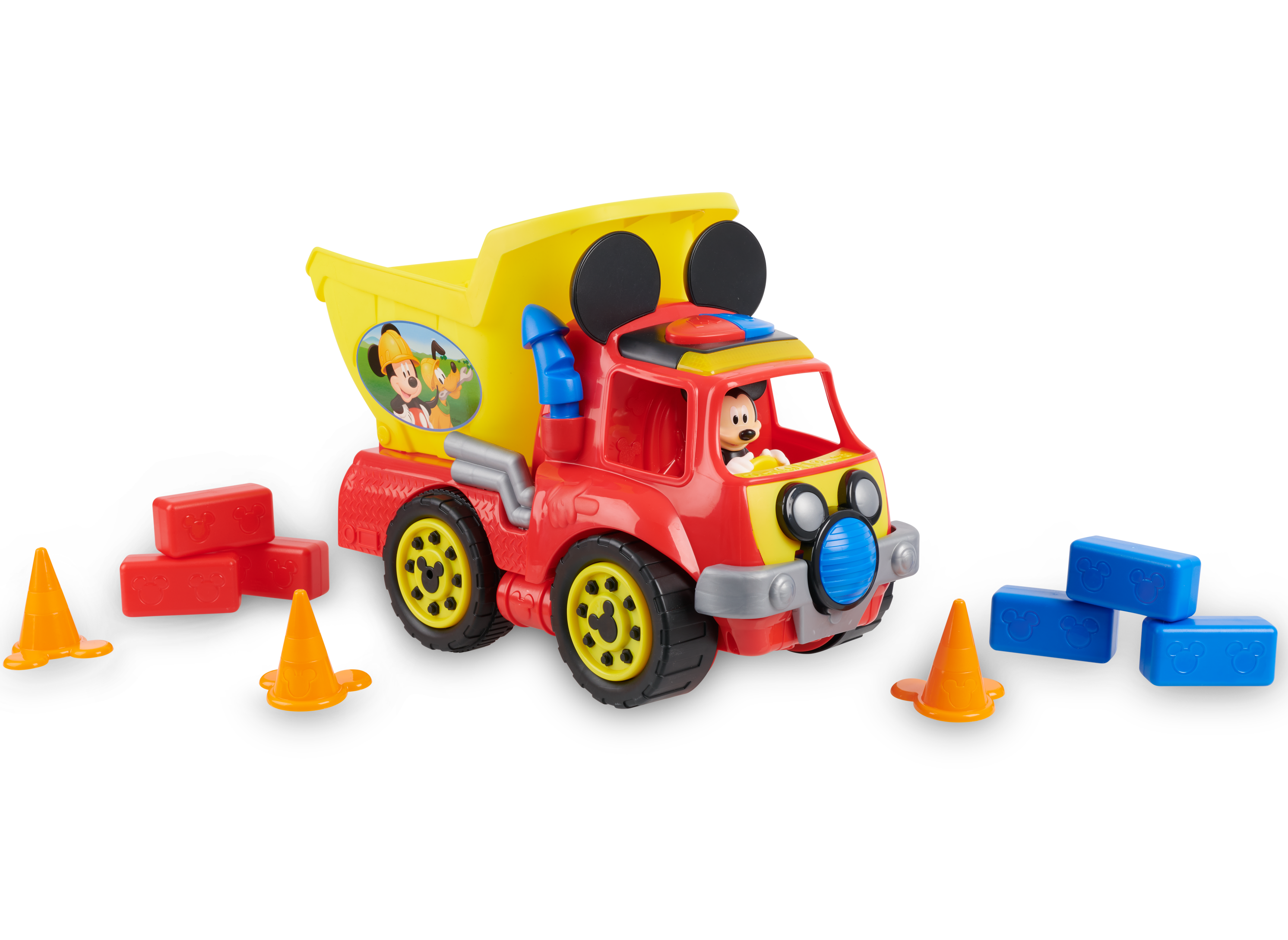 Disney Junior Mickey Mouse Funhouse Wacky Wheeler Dump Truck