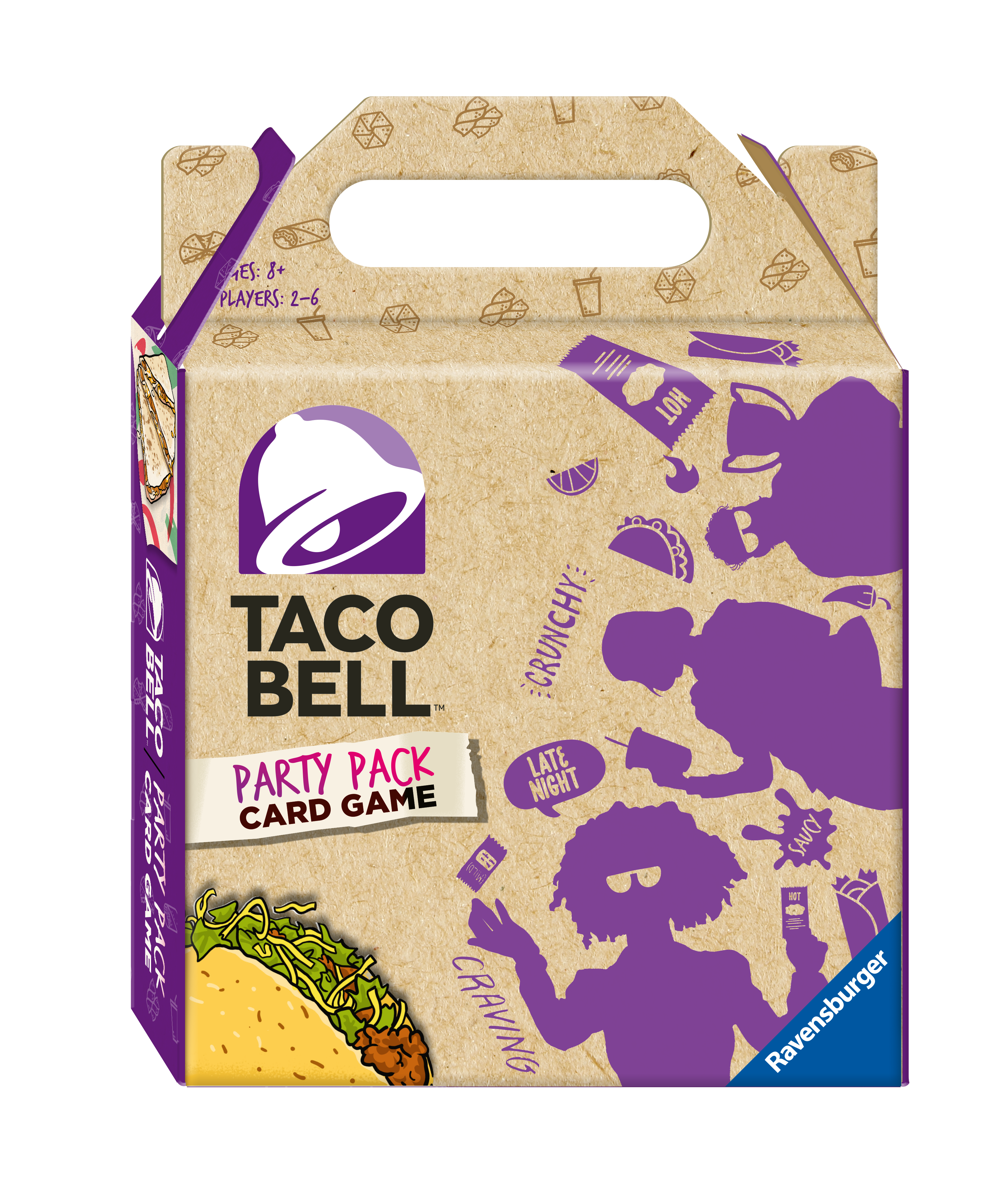 Taco Bell Party Pack Card Game