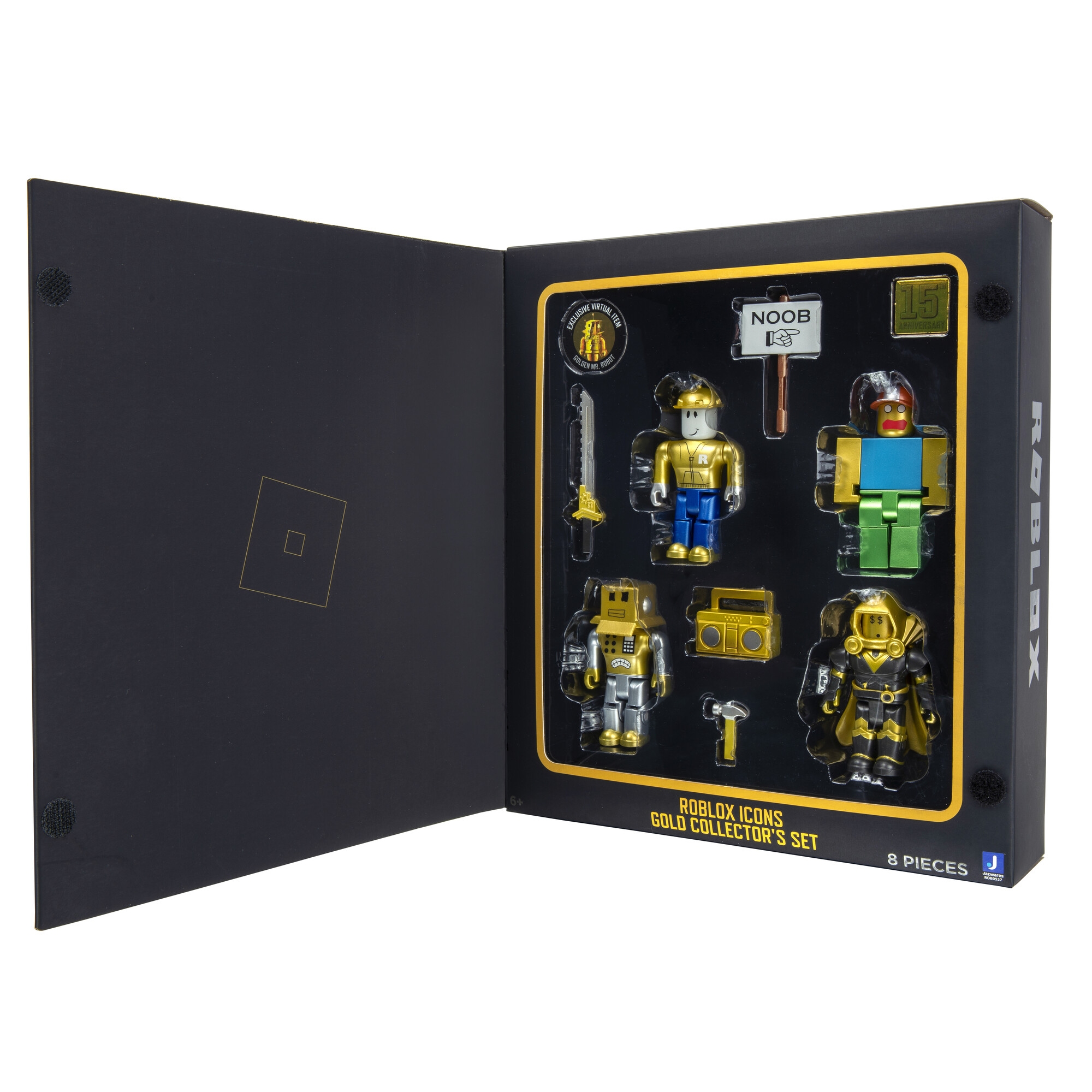 Roblox 15th Anniversary Gold 4-Figure Pack