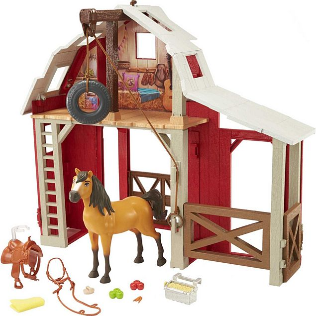 Spirit Untamed: Swing & Saddle Barn Playset
