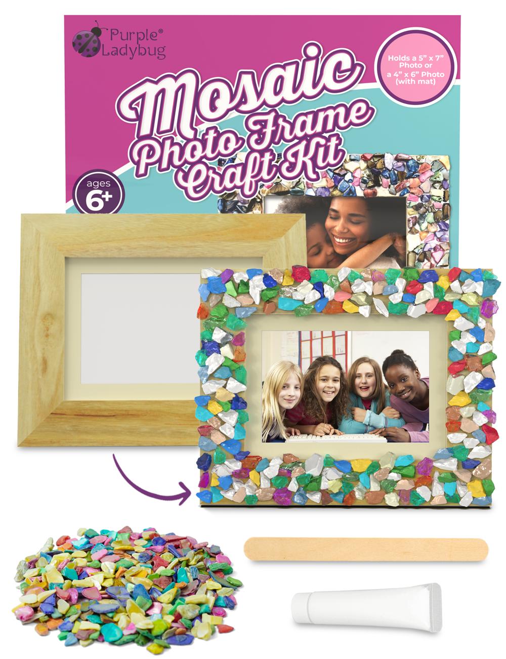 Mosaic Photo Frame Craft Kit
