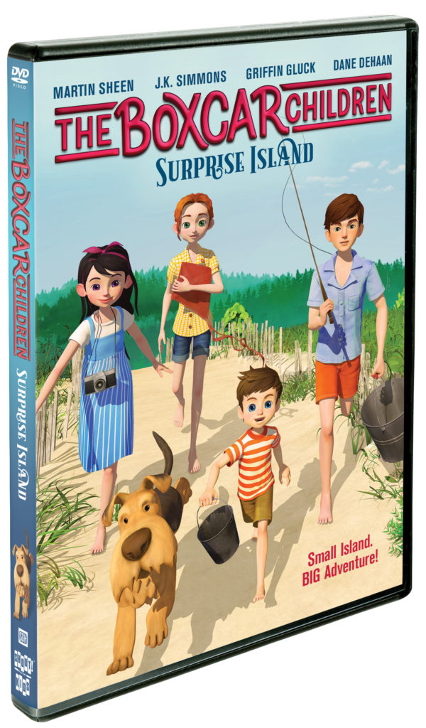 The Boxcar Children – Surprise Island DVD