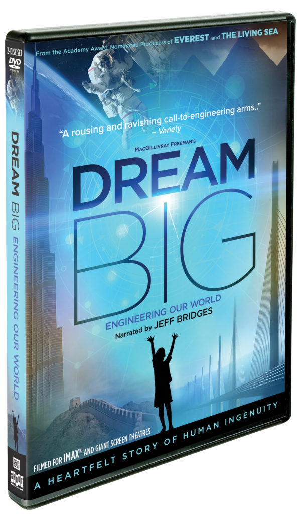 Dream Big: Engineering Our World DVD