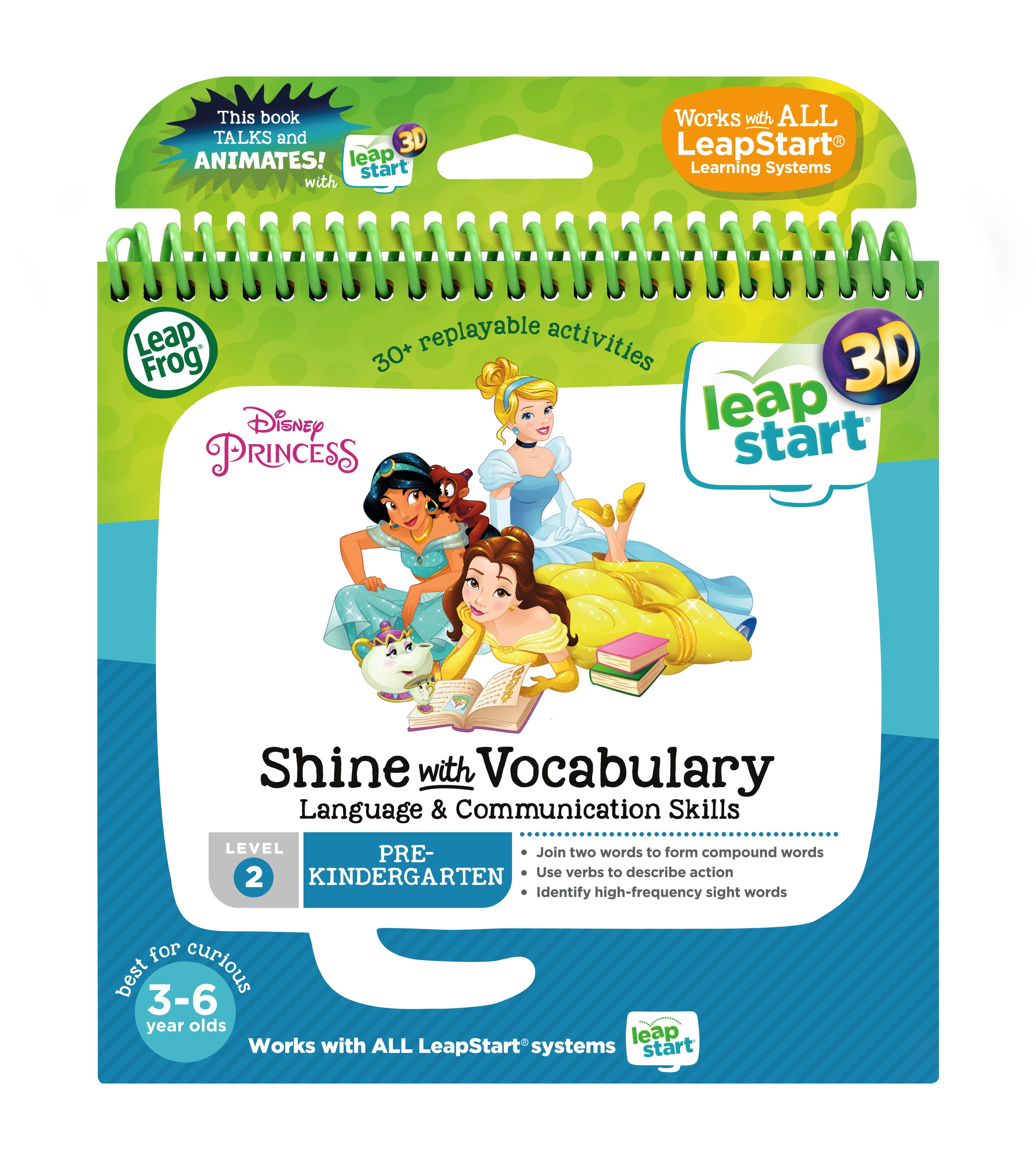 LeapStart® 3D Disney Princess Shine with Vocabulary