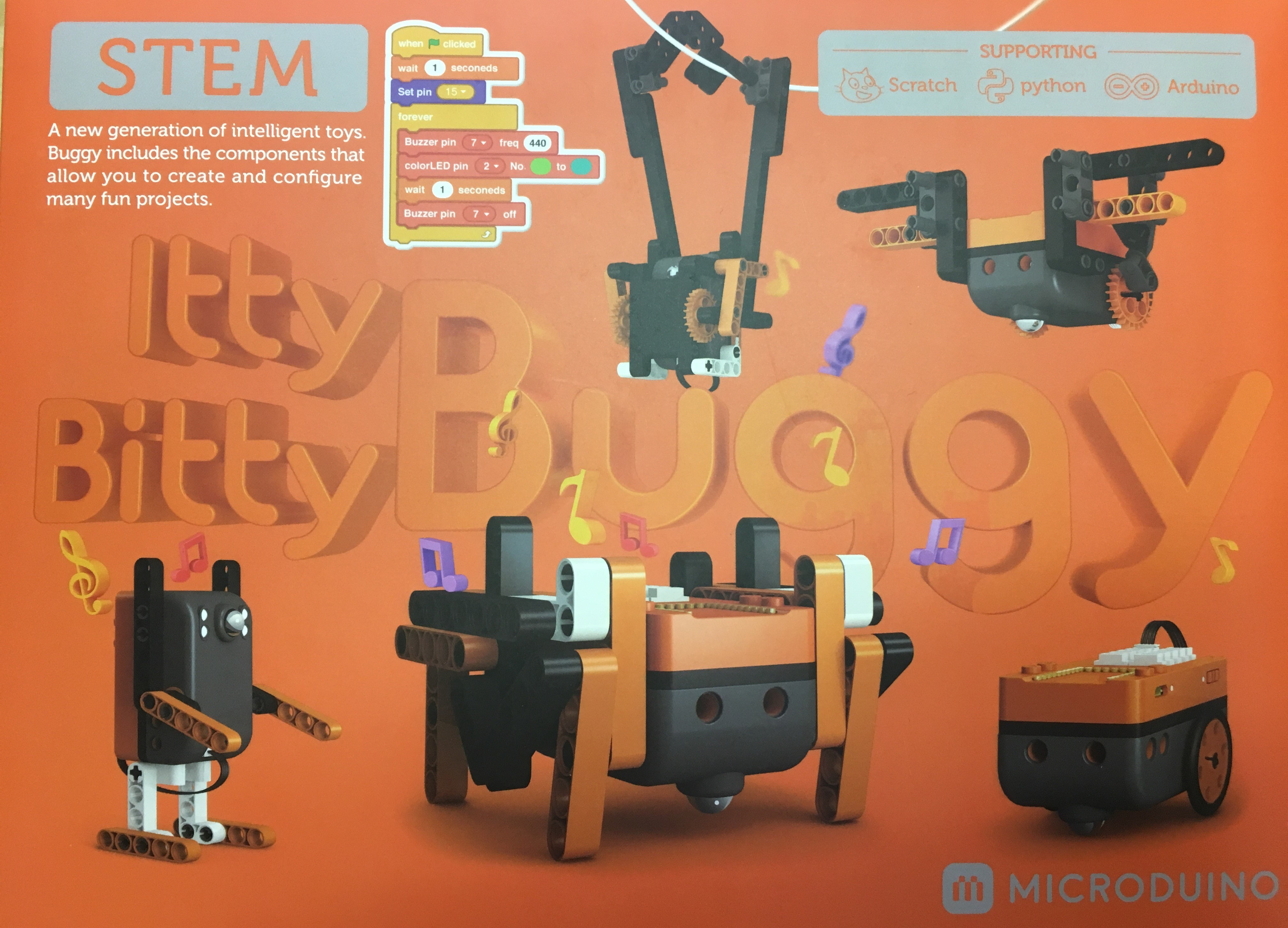 Microduino Itty Bitty Buggy