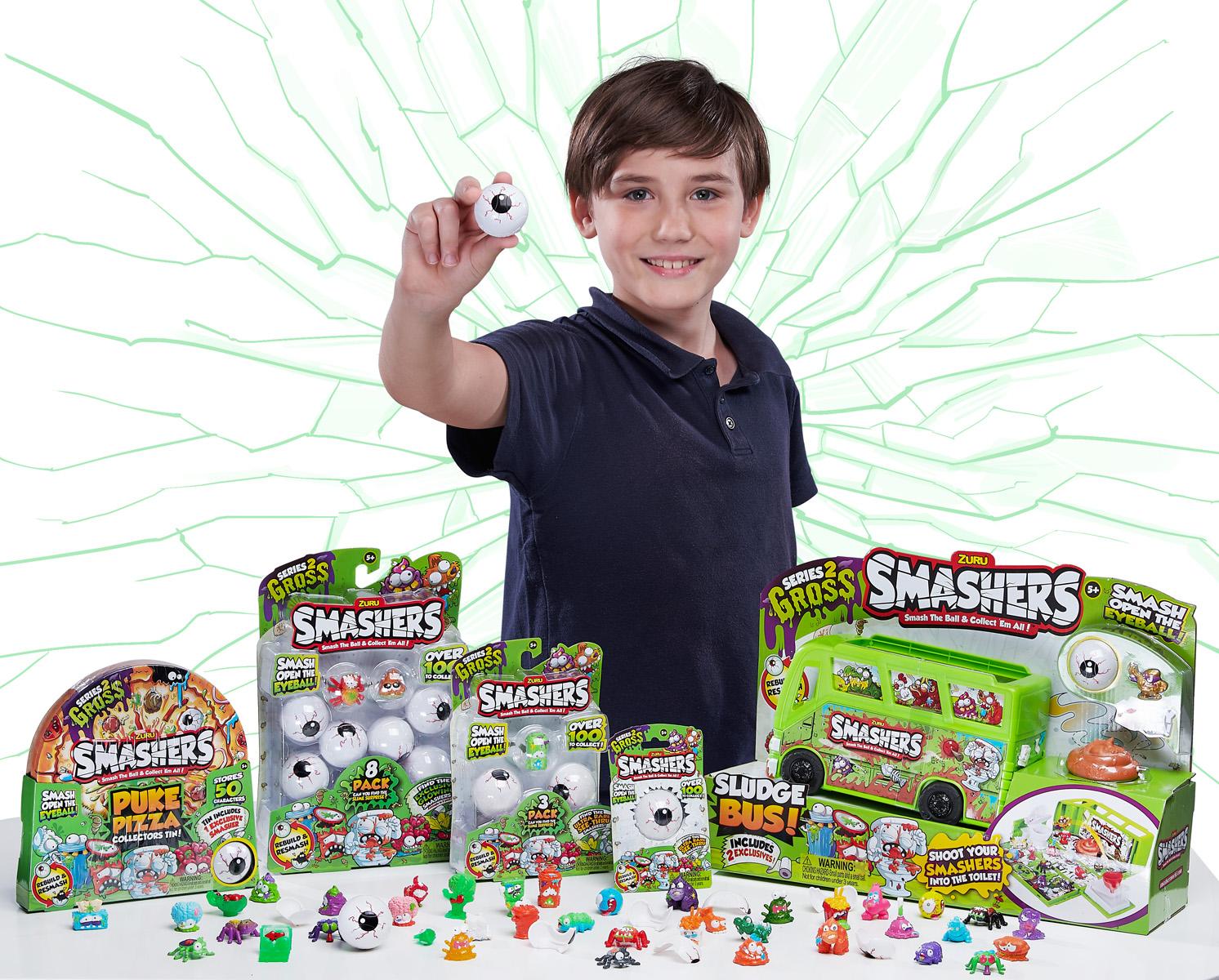 SMASHERS™ Series 2: GROSS SMASHERS