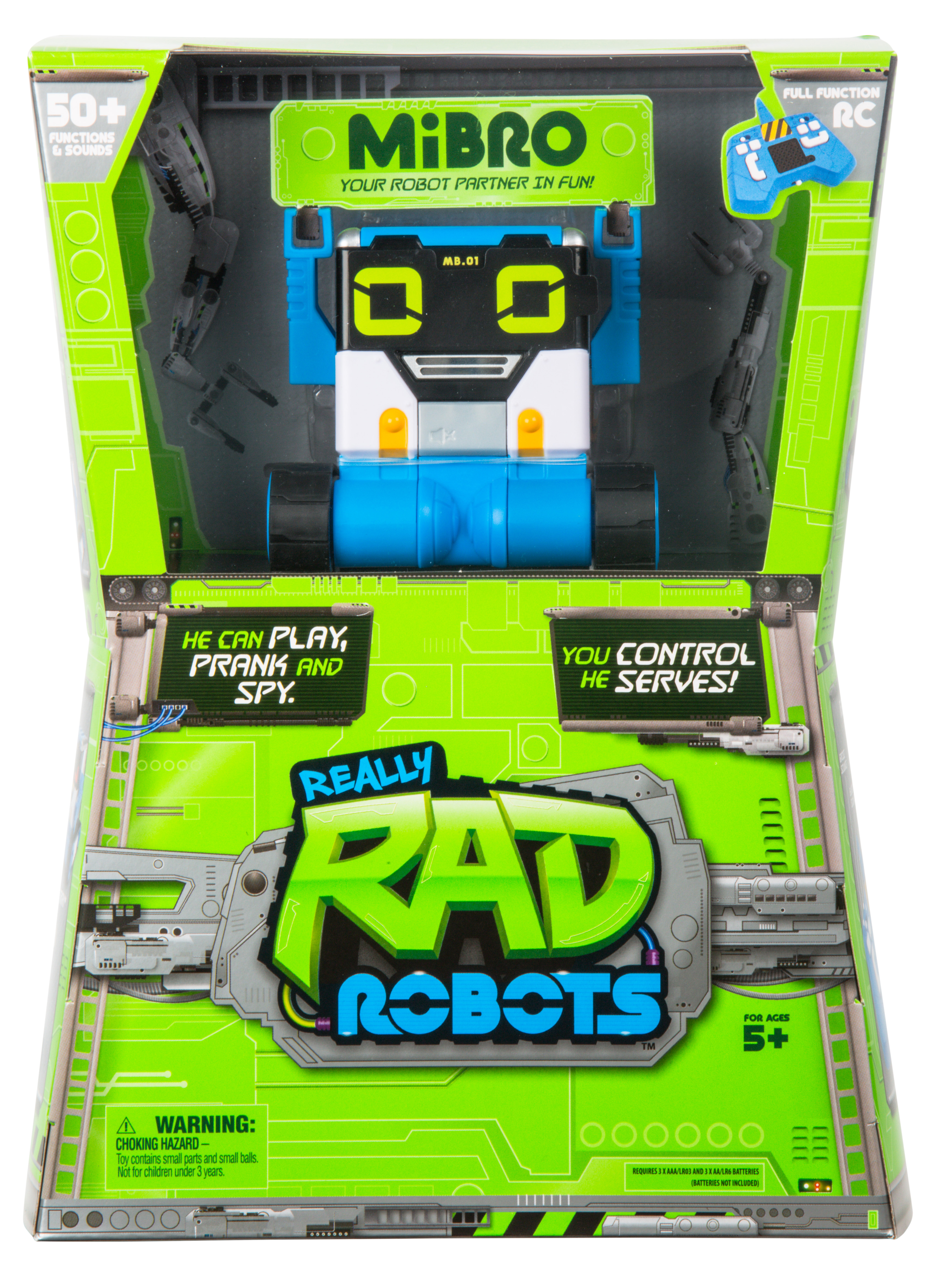 Really Rad Robots MiBro