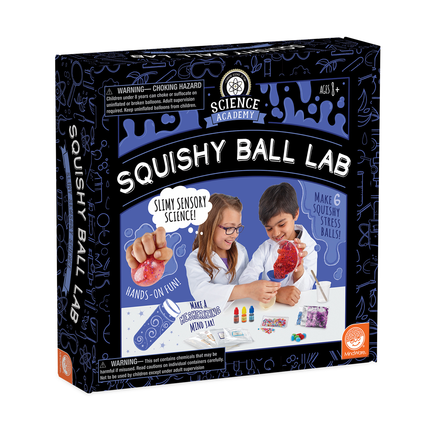 Science Academy: Squishy Ball Lab