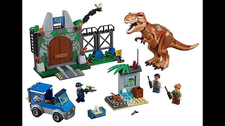 LEGO Juniors JURASSIC WORLD T. Rex Breakout
